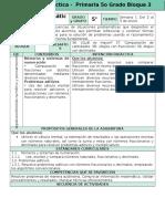 Plan 5to Grado - Bloque 3 Matemáticas (2016-2017)