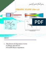 Non-Isentropic Flow Sec 2