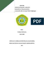 RESUME Kimia Lingkungan Tugas CEC Yusran