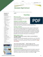 OSSLT Test Day Tips