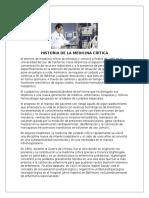 Historia de La Medicina Crítica Ale