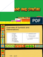 Introduction to Grammar and Syntax