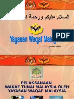 Wakaf Tunai Malaysia 040309