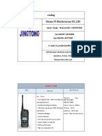Cindy --JT Walkie Talkie Catalog