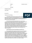 Letter to the Internal Revenue Service regarding Form 990
