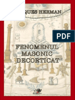 Fenomenul Masonic Decorticat - Jacques Herman