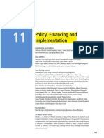 Chapter 11 Policy- Financing and Implementation