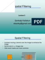 Spatial Filtering Image Processing
