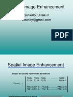 Spatial Image Enhancement