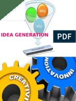 Idea Genaration (Ppt Micro Teaching)