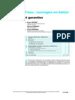 Stockage De L'eau Ouvrages En Béton - Maintenance Et Garanti.pdf