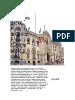 La Política de las Políticas en Gestión Pública