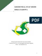 Panduan Kredensial Dan Rekredensial Staf Medis