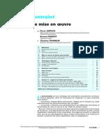 Béton précontraint - Techniques de mise en oeuvre.pdf