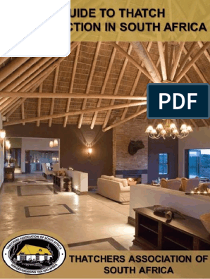 Guide To Thatch Construction In South Africa1 Beam Structure Roof