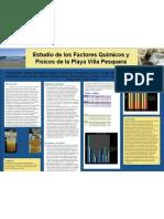 ESTUDIO de los Factores Químicos y fisicos de la playa VILLA PESQUERA
