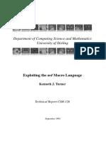 M4 Macro Language