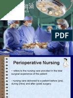Perioperative Nursing Skills