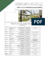 CCTP - Lot 14 - Electricité Courants Faibles