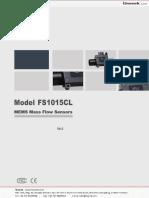 Isweek Mass Flow Sensors - FS1015
