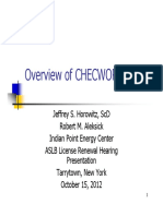 Overview of Checworks