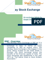Stock Market Training- Bombay Stock Exchange