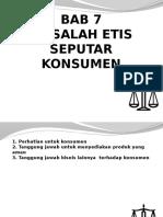 Etika Bisnis Bab 7