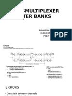 Transmultiplexer Filter Banks