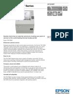 Epson TM T88IV Series Datasheet