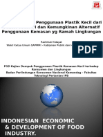 Kajian Dampak Penggunaan Plastik Kemasan Kecil Thd Konsumen & Lingkungan GAPMMI