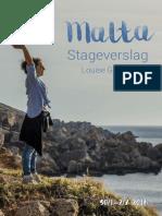 Stageverslag Malta