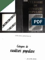 Leogadia Stefanuca - Culegere de Cusaturi Populare Partea I