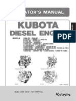 Kubota V3600 85HP Engine Manual