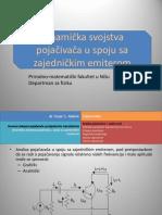 4. Bipolarni Tranzistor Analiza Za Naizmenicni Signal