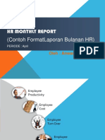Hr Monthly Report