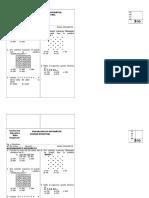 Evaluación Razonamiento Matemático - Unidad 2