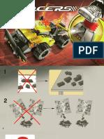 Lego building istructions 7689