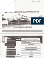 Estructura Informe Final de Pasantías Unefa