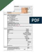 MV Capacitor Calculation
