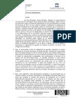 Resolución Judicial Piñera