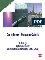 Gas Aggregation Company of Nigeria Investor Forum Presentation