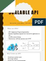 Scalable API
