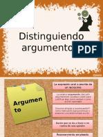 Argumentos y No Argumentos