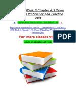 ACC 290 Week 3 Chapter 4,5 Orion WileyPlus Proficiency and Practice Quiz