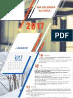 2017 Tax Calendar | Slovakia