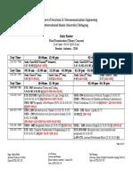 Duty Roster- Final Exam - AU-16