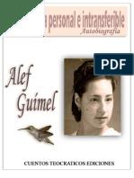 Libro - Una Historia Personal e Intransferible [Alef Guimel]