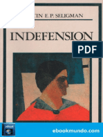 Indefension - Martin E. P. Seligman