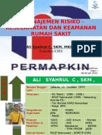 Manajemen Resiko Keselamatan Dan Keamanan Rumah Sakit