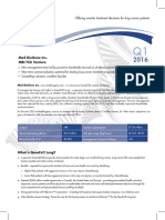 Medbiogene Fact Sheet q1 2016